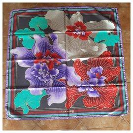 Leonard-Silk scarf-Multiple colors