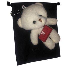 Chanel-Teddy bear-White