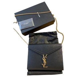 Yves Saint Laurent-Cassandre bag-Black