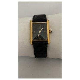Cartier-Quartz Watches-Black