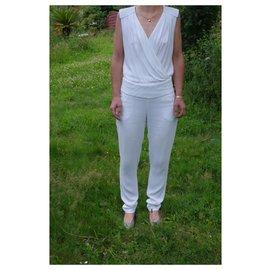 Ikks-Jumpsuits-White