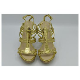 Chanel-Sandals-Golden