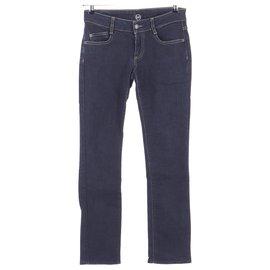 Alexander Mcqueen-Jeans-Navy blue