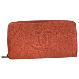 Chanel-Chanel Zipped Wallet-Other