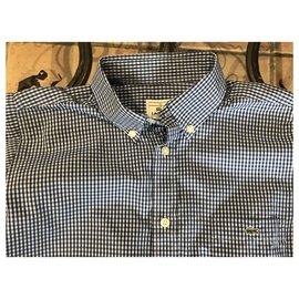 Lacoste-T-shirts-Bleu clair,Bleu foncé
