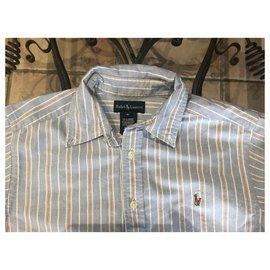 Ralph Lauren-T-shirts-Blanc,Rouge,Bleu