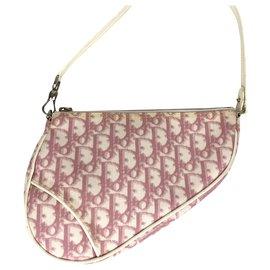 Dior-SADDLE PINK POUCH Dior-Pink