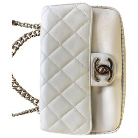 Chanel-CHANEL cuir-Beige