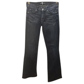 7 For All Mankind-Lexie Bootcut size 26-Blue