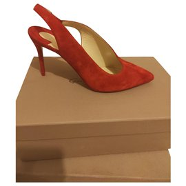 Christian Louboutin-LOUBOUTIN Pumps-Red