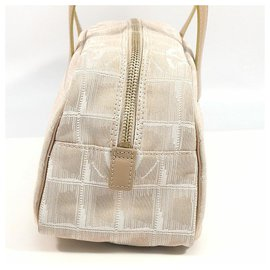 Chanel-CHANEL New Travel Line Womens Boston bag A15828 Beige-Beige