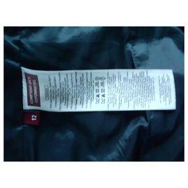 Comptoir Des Cotonniers-Girl Coats outerwear-Black