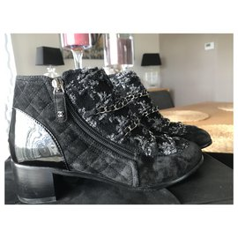 Chanel-BOOTS CHANEL-Black