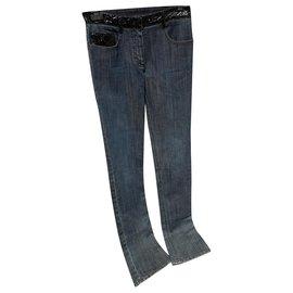 Chanel-Jeans-Black,Blue