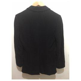 Costume National-black blazer-Black