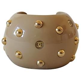 Chanel-Bracelets-Beige