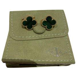 Van Cleef & Arpels-Boucles d'oreilles-Vert