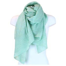 Chanel-Chanel shawl-Green