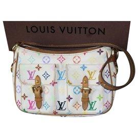 Louis Vuitton-Sac Lodge Louis Vuitton vendu avec sa boîte-Multicolore