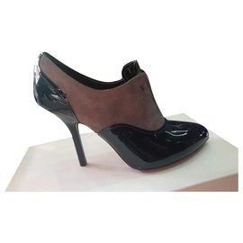 Louis Vuitton-LOUIS VUITTON NEW BOOTS-Black