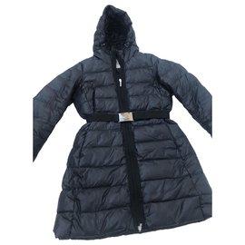 Moncler-Manteaux, Vêtements d'extérieur-Bleu
