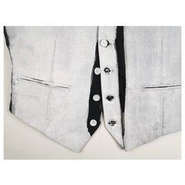Maison Martin Margiela-Blazers Jackets-White