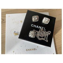Chanel-Jewellery sets-Silvery