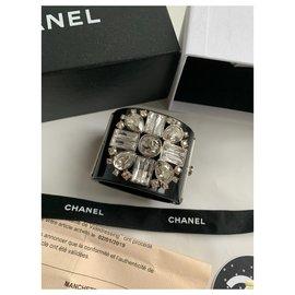 Chanel-Bracelets-Black