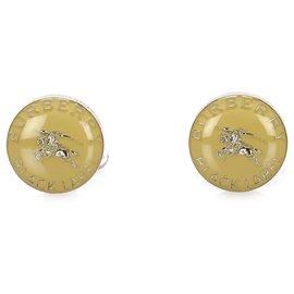 Burberry-Burberry Gold Gold-tone Cufflinks-Golden
