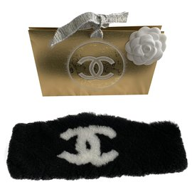 Chanel-CC headband-Black