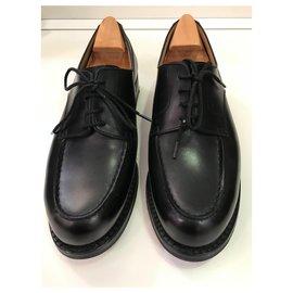 JM Weston-Weston golf shoes-Black