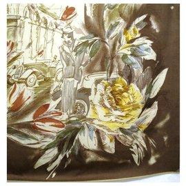 Loro Piana--Cashmere and silk scarf, LORO PIANA-Beige