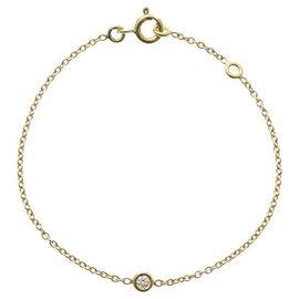 Dior-Christian Dior Bracelet Mimiwi Diamant Or Jaune-Doré