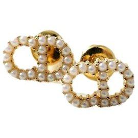 Dior-Boucles d'oreilles Dior Pearl-Autre