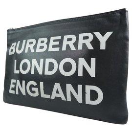 Burberry-Burberry clutch bag-Black