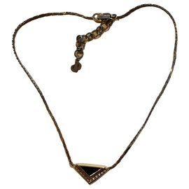 Christian Dior-Pendant necklace-Golden