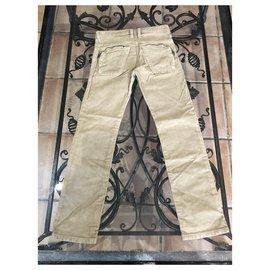 Diesel-Un pantalon-Beige