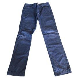 Polo Ralph Lauren-Un pantalon-Bleu,Bleu clair
