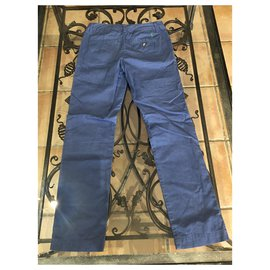 Polo Ralph Lauren-Pants-Blue,Light blue