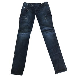 Diesel-Pants-Blue,Navy blue,Dark blue