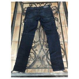 Diesel-Un pantalon-Bleu,Bleu Marine,Bleu foncé