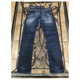 Diesel-Un pantalon-Bleu,Bleu foncé
