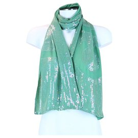Chanel-Chanel scarf-Green