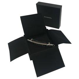 Chanel-Accessoires pour cheveux-Argenté