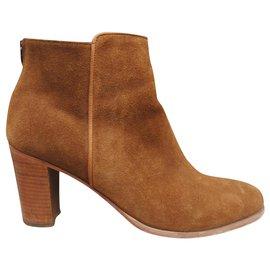 Anthology Paris-Anthology Paris p ankle boots 39,5-Light brown