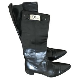 Dior-Bottes dior-Noir