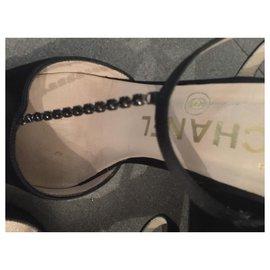 Chanel-Dressy pumps-Black