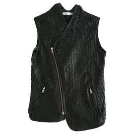 Les Petites-Biker jackets-Black