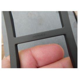 Hermès-Hermès trotter buckle 32MM-Black