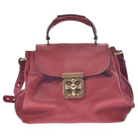 Chloé-Chloé Handbag-Red
